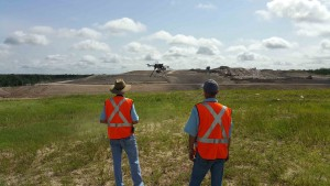 Texas Drone Professionals Landfill On Site