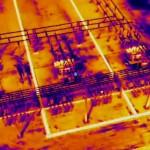 Drone FLIR Inspection Substation