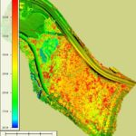 Elevation Map With Trees - Wheeler Ridge