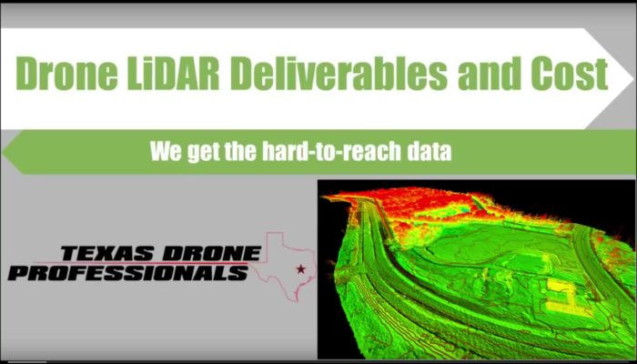 Drone LiDAR title screen